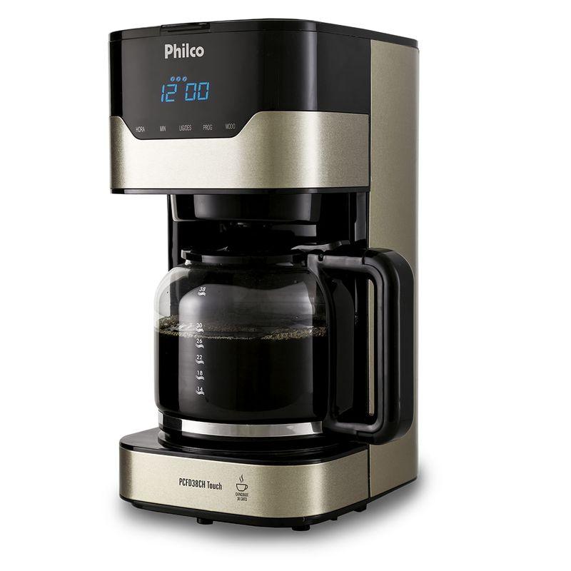 Cafeteira Elétrica Philco Touch Preto 110v - Pcfd38ch