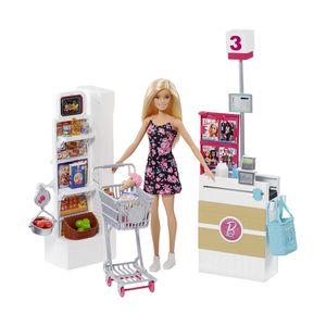 Boneca Barbie Supermercado