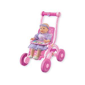 Carrinho de Boneca Disney Princesas Disney
