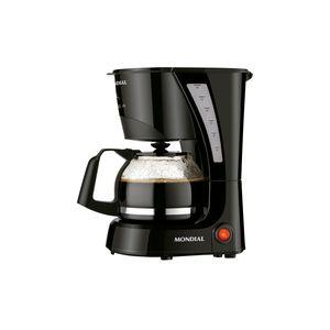 Cafeteira Elétrica Mondial Pratic C25 Preta 14 Xícaras - 127v