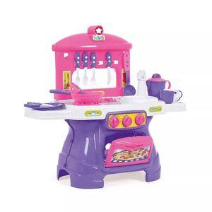 Cozinha Ta Te Ti Infantil Mini Chef com Água Rosa