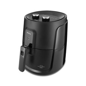 Fritadeira Elétrica Air Fryer Philco Gourmet Black Pfr15p 4l Preta - 220v