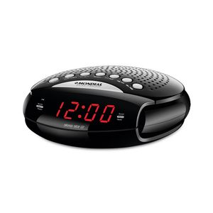 Rádio Relógio Mondial Sleep Star Iii Rr-03 Am/fm - Bivolt