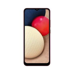 """Smartphone Samsung Galaxy A02s 32gb Tela 6.5"""" Câmera Tripla 13mp + 2mp + 2mp Vermelho"""