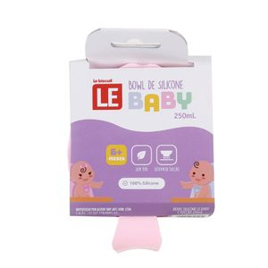 Bowl Silicone Le Baby com Sucção 250ml