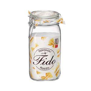 Pote de Vidro Hermético Bormioli Rocco Fido Transparente 1,5l