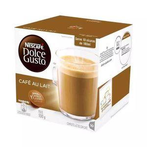 Cápsulas Nescafé Dolce Gusto Espresso Café Au Lait 10 Unidades 100g