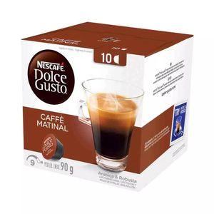 Cápsulas Nescafé Dolce Gusto Caffe Matinal 10 Unidades 90g