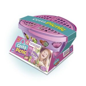 Cesta de Picnic Zuca Toys com Acessórios