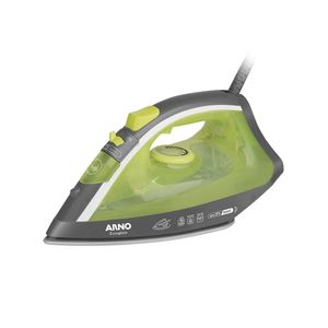 Ferro de Passar Roupa a Vapor Arno Ecogliss Fec1 Verde 110v