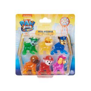 Patrulha Canina Sunny Kit com 6 Mini Figuras do Filme