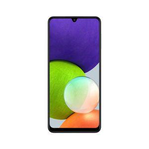 "Smartphone Samsung Galaxy A22 128gb Tela 6.4"" Câmera Quádrupla de 48mp + 8mp + 2mp + 2mp Branco"