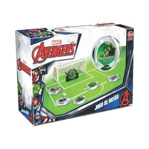 Jogo de Botão Líder com Personagens Avengers