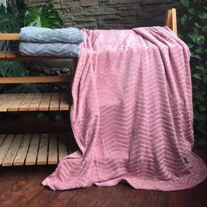 Manta Cobertor Queen Microfibra Le Brushed - Item Sortido