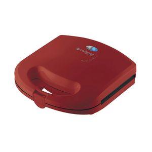 Sanduicheira Mini Grill Cadence Easy Meal Colors Vermelha Antiaderente - 110v