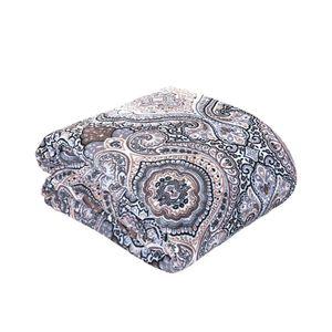 Manta Cobertor Casal Microfibra Andreza Fleece Mandala/deserto - Item Sortido