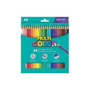 Lápis de Cor Faber-Castell Multicolor Super 24 Cores