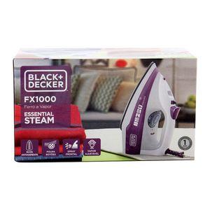 Ferro de Passar Roupa a Vapor Black & Decker Fx1000 Branco/lilás - 220v