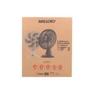Ventilador de Mesa Mallory 6 Pás Olimpo Ts - 40cm 110v