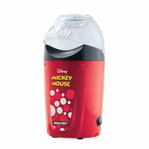 Pipoqueira Mallory Disney Mickey Mouse Vermelha - 220v