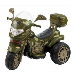 Moto Biemme Sprint Turbo Militar 12v com Capacete