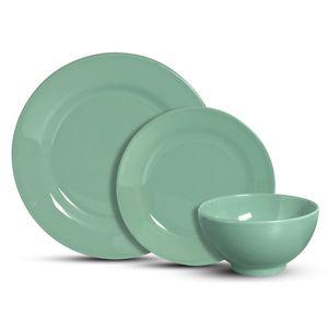 Aparelho de Jantar Scalla Standard Verde 12 Peças