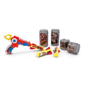 Lança Foguete Homem Aranha com Latinhas Toyng