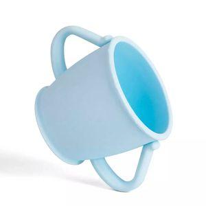 Copo de Silicone Le Baby Azul 200ml