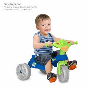 Triciclo Mototico Bandeirante Passeio e Pedal Azul
