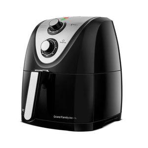 Fritadeira Elétrica Air Fryer Mondial Grand Family Inox Afn-50-Bi 5l Preta - 220v
