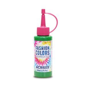 Tinta Para Tecido Aquarela Silk 60ml Verde Vivo