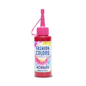Tinta Para Tecido Aquarela Silk 60ml Vermelho Carmim