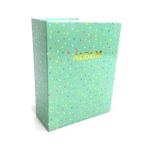 Álbum de Fotos Le Poá Color 100 Folhas 12,5x16,5cm