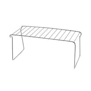 Prateleira de Metal Cromado Arthi Prata 35,7x18,2x14,2cm