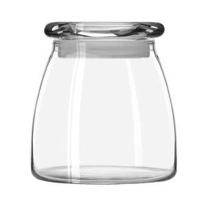 Pote de Vidro com Tampa Libbey Vibe Transparente 1l