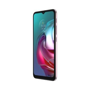 "Smartphone Motorola G30 128gb Tela 6.5"" Câmera Quádrupla 64mp + 8mp + 2mp + 2mp Branco"