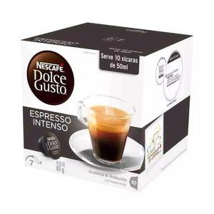Cápsulas Nescafé Dolce Gusto Espresso Intenso 10 Unidades 80g