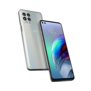 "Smartphone Motorola G100 256gb Tela 6.7"" Câmera Tripla 64mp + 16mp + 2mp Branco"