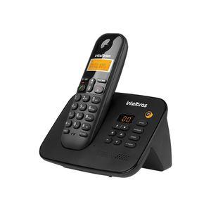 Telefone Intelbras sem Fio com Secretária Eletrônica Ts3130 Preto