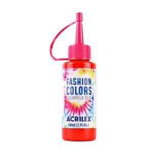 Tinta Para Tecido Aquarela Silk com 60ml Vermelho Fogo
