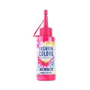 Tinta Para Tecido Aquarela Silk com 60ml Rosa