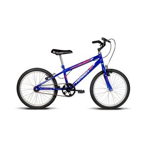 Bicicleta Verden Aro 20 Azul com Adesivo Branco e Vermelho