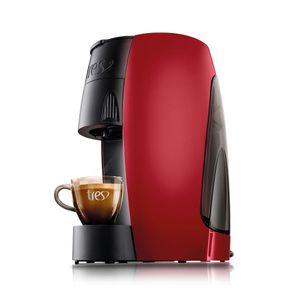 Máquina de Café Expresso Três Corações Basic Vermelha