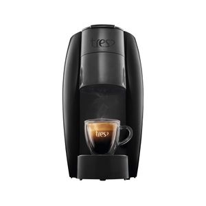 Máquina de Café Expresso Três Corações Basic Preta