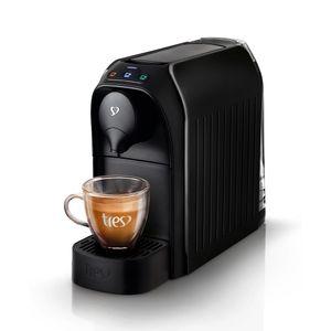 Maquina de Café Expresso Três Corações Passione Preta