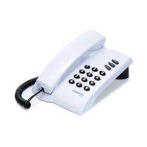 Telefone Fixo com Fio Intelbras Pleno Cinza Artico