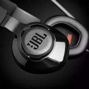 Headphone Jbl Quantum 300 com Múltiplas Conexões de Fio e Microfone Flip-Up Over-Ear Gamer Preto