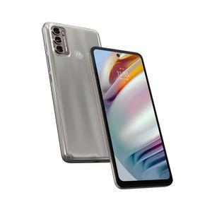 "Smartphone Motorola G60 128gb Tela 6.8"" Câmera Tripla 108mp + 8mp + 2mp Prata"