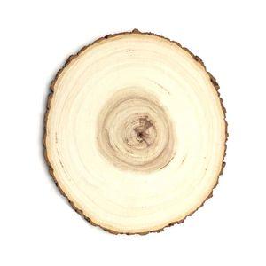 Bandeja Madeira Tronco 20cm