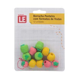 Borracha Ponteira Le Fruit com 12 Unidades